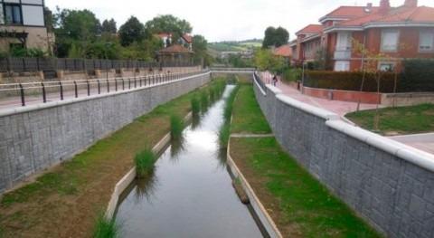 Finalizan obras río Gobela Errekagane 3 años