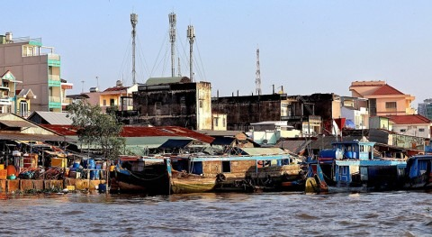 presas China río Mekong acaparan agua durante sequía