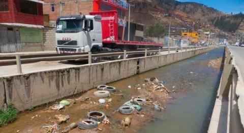 Instituciones y usuarios agua se unen limpieza ríos peruanos Tarma
