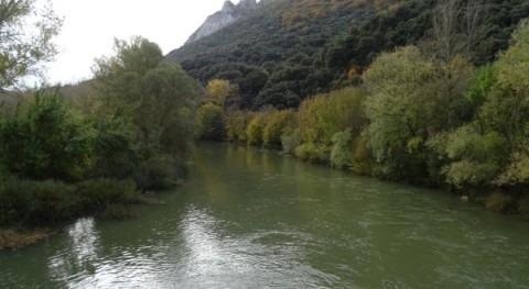 CHE inicia trabajos recuperación capacidad desagüe ríos Araquil y Zidacos