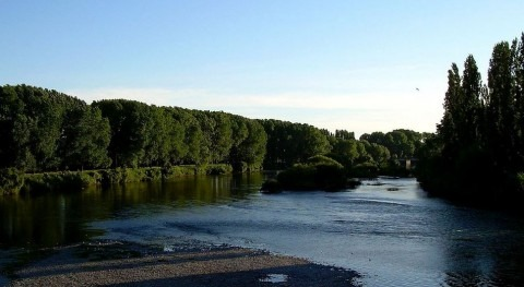 Río Rahue en Chile (Wikipedia/CC).