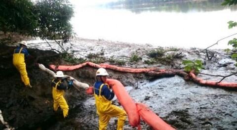 Contaminación río Daule
