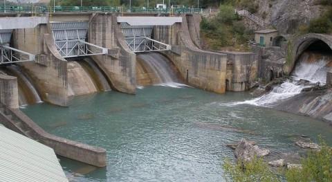 Imagen del río gállego