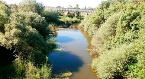 """""""Lavado cara"""" márgenes río Gévora"""