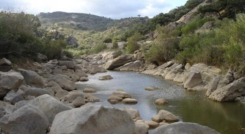 Río Hozgarganta cerca de Jimena