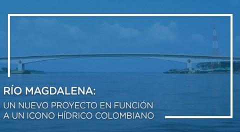 Río Magdalena: nuevo proyecto función icono hídrico colombiano