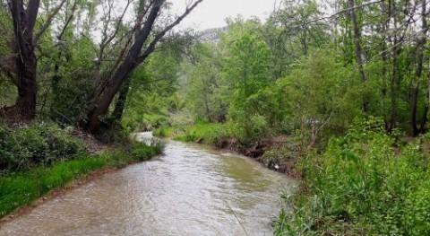 CHE finaliza actuación mejora capacidad desagüe río Martín, Montalbán (TE)