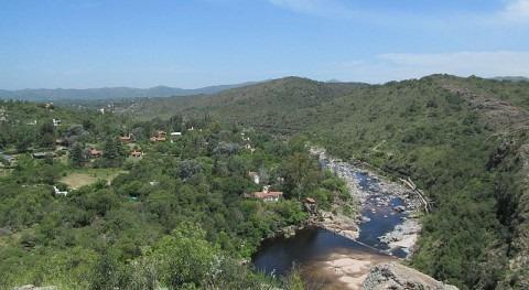 Imagen del río San Antonio