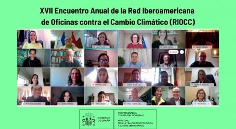 RIOCC se compromete conseguir mayor impacto acción climática Iberoamérica