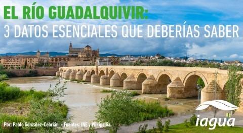 ¿Conoces estos datos río Guadalquivir?