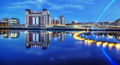 The River Tyne & Baltic Flour Mills (Jimmy McIntyre en Flickr/CC)