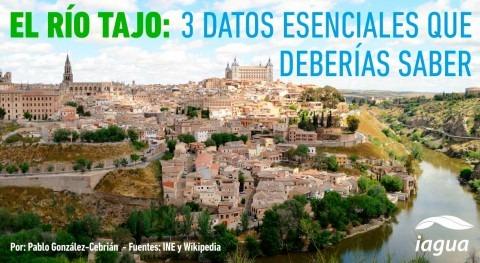 ¿Sabías que río Tajo es más largo Península Ibérica?