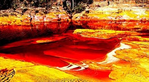 Río Tinto, caudal marciano España