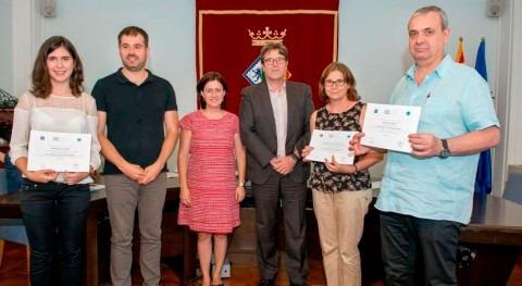 Rita Blasi recibe reconocimiento como ganadora Stockholm Junior Water Prize España