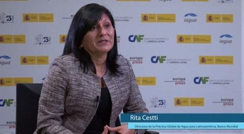 "Rita Cestti: ""Es importante que países sepan que Banco Mundial está ahí largo plazo"""