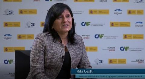 """R. Cestti: """"España es referente Latinoamérica alcanzar gestión integrada agua"""""""
