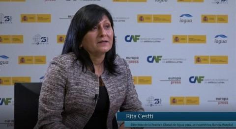 """Cestti: """" principal obstáculo es que políticas agua trasciendan administraciones"""""""