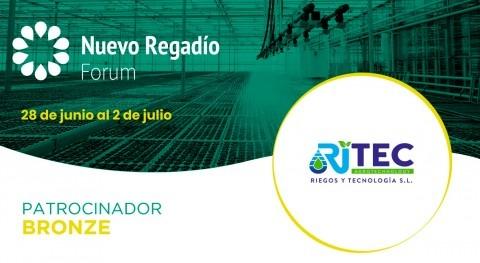 Ritec, líderes sector agrotecnológico, Bronze Sponsor Nuevo Regadío Forum