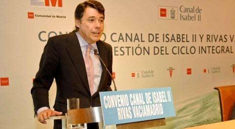 Rivas, como accionista Canal Isabel II, se personará juicio Operación Lezo