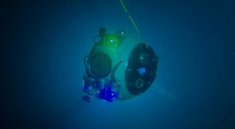 proyecto europeo diseña robot submarino autónomo exploración minas abandonadas