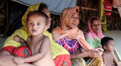 Masiva campaña inmunización cólera refugiados rohingya