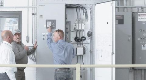 Reducción costes y protección inteligente motores plantas tratamiento agua