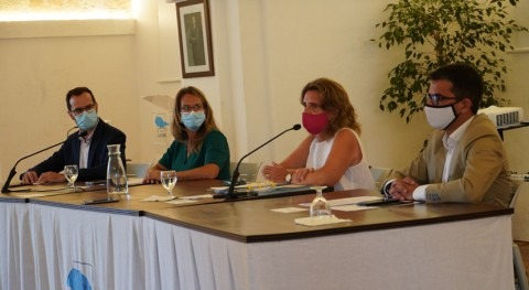 Teresa Ribera anuncia reparto 755.383 euros Reserva Biosfera Menorca