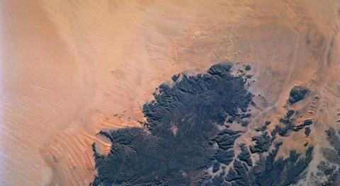 nuevo radar NASA: tecnología usada Marte buscar agua enterrada desiertos