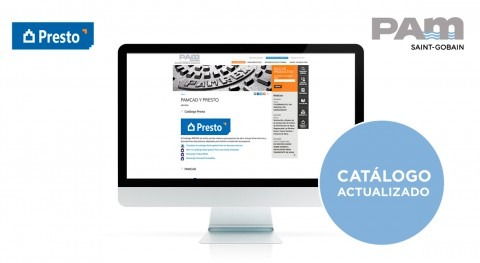 Saint-Gobain PAM actualiza catálogo Presto