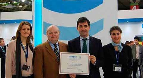 Smagua destaca Saint-Gobain PAM España premio Decoración y Diseño stand