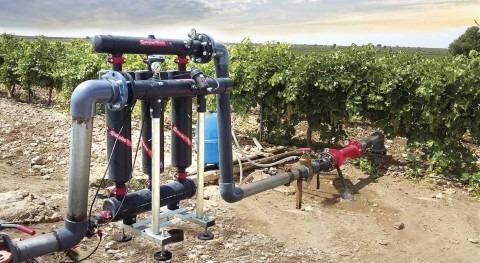formación como parte fundamental uso agua tecnologías riego agrícola