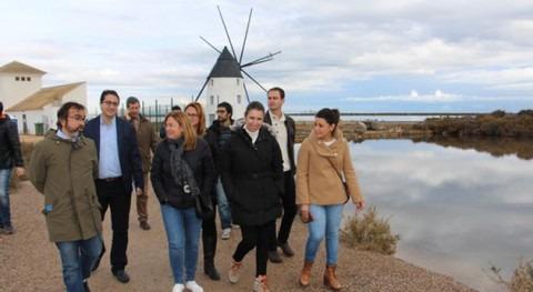 Murcia mejorará entorno natural Salinas San Pedro iniciativas sostenibles