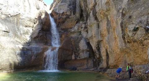 Conociendo cuenca Ebro: Saltador Lañas, río Mascún (Huesca)