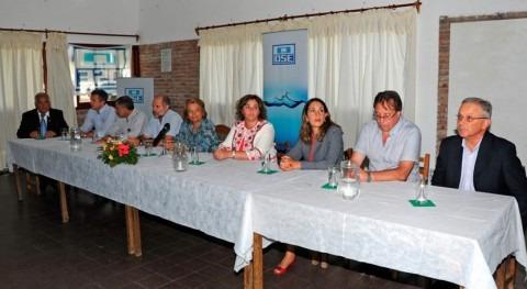 marcha construcción red saneamiento Fray Marcos, Uruguay