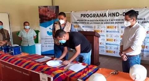 Cooperación Española apoya Oficina Municipal Agua y Saneamiento Gracias, Honduras