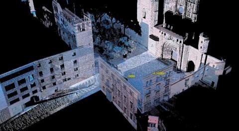 modernización red saneamiento Huesca incluye escaneado 3D