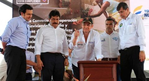 1000 familias tendrán agua y saneamiento primera vez Huila, Colombia