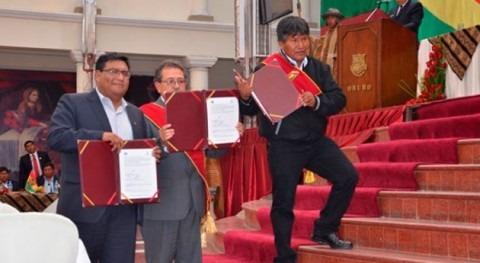 Bolivia pondrá marcha construcción alcantarillado zonas periurbanas Oruro