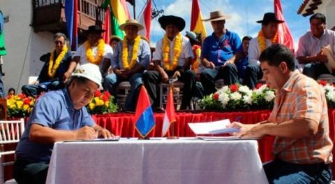 Bolivia inicia obras agua potable y alcantarillado San Lorenzo