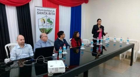 Presentado diseño alcantarillado Santa Rita Paraguay