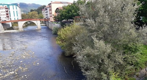 Arrancan obras colector situado calle mayor Villabona y río Oria