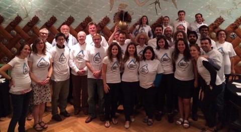 Más 50 profesionales campo agua conferencia final proyecto SANITAS