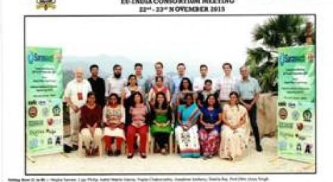 CENTA participa cuarto Consortium meeting proyecto FP7-SARASWATI Mumbai (India)