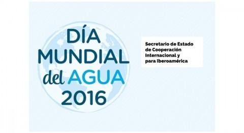 Carta abierta al Secretario Estado Cooperación Internacional Día Mundial Agua