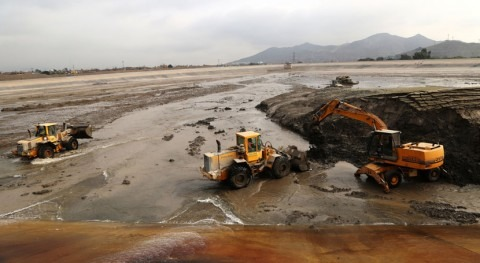 Retiradas 300.000 toneladas lodo caída huaicos PTAR Atarjea