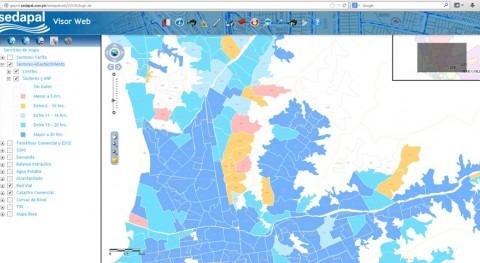 SEDAPAL mantiene confianza Eptisa mantenimiento Sistema Geográfico Corporativo