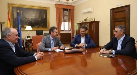 CHS y Gobierno Castilla- Mancha abren nueva etapa colaboración temas hídricos