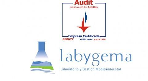 Labygema supera éxito auditoría realizada Achilles