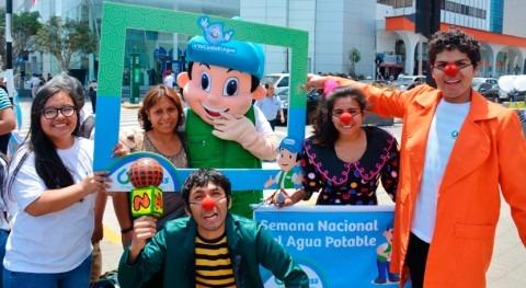 Culmina éxito Semana Nacional Agua Potable 20 ciudades Perú