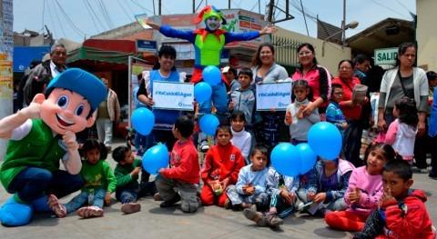 SUNASS desarrolla actividades durante semana nacional agua potable